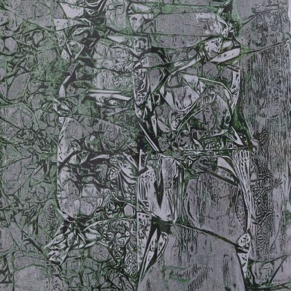 Study in Green, Black and Silver