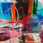 Anthony Liggins Acrylic on Canvas72 x 48